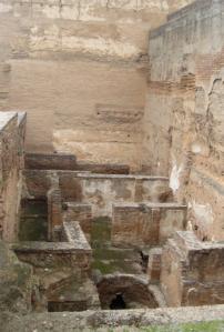 La Alcazaba es la parte más antigua de La Alhambra