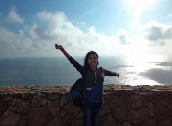 Libertad, hermoso mirador cerca de Sintra. Abril 2011. TH!NK5 Trip. Fotografía: Andrea Arzaba