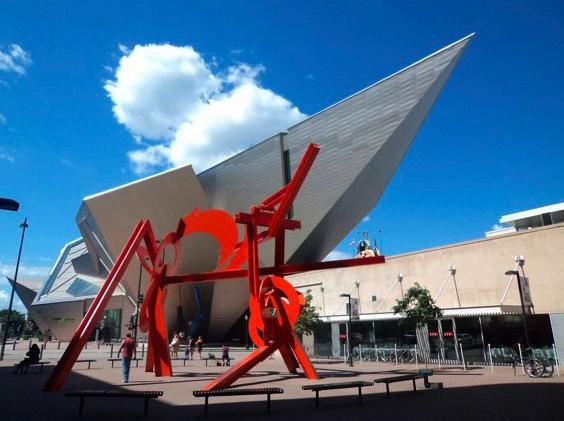 El museo de arte de Denver. Fotografía: Andrea Arzaba