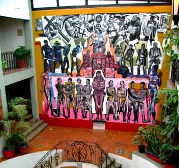 M xico ecobarrios i andrea arzaba for Donde esta el mural de adan zapata