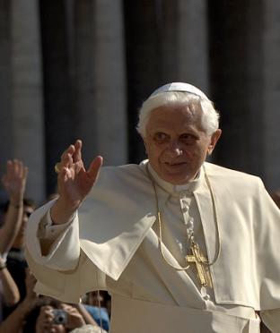 Pope Benedict XVI. Picture taken by Sergey Gabdurakhmanov
