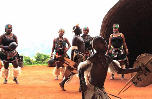 Zulu dance. Durban, South Africa. Dec 2011