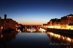"""El """"ponte vecchio"""" de noche"""