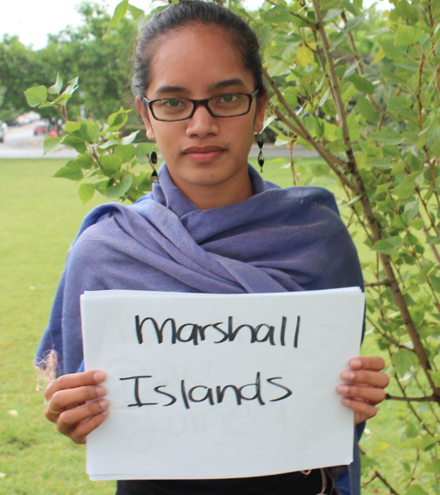 Milán, a young professional from the Marshall Islands. Picture: Andrea Arzaba