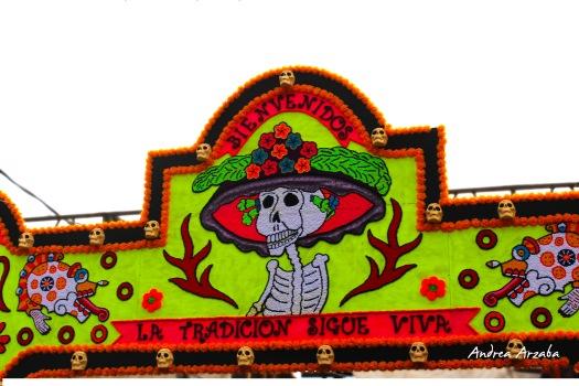 Día de muertos en Mixquic (Andrea Arzaba)
