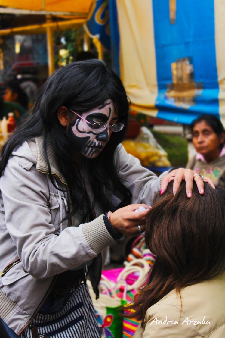 Día de muertos en Mixquic 9 (Andrea Arzaba)
