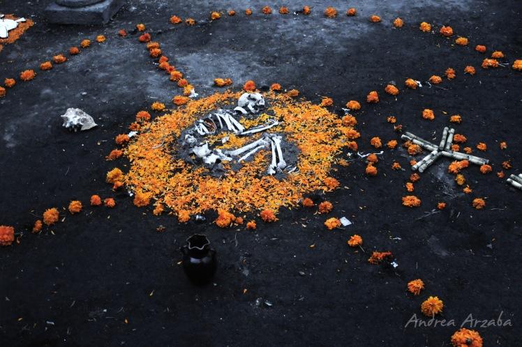 Día de muertos en Mixquic 8 (Andrea Arzaba)