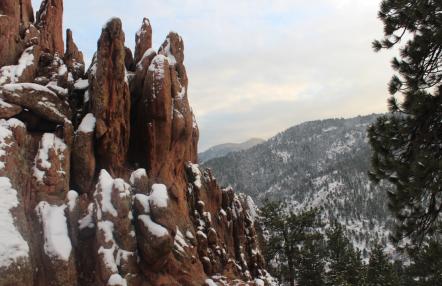 Las montañas de Boulder, Colorado. Picture: Andrea Arzaba