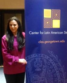 Esperanza, the event coordinator!
